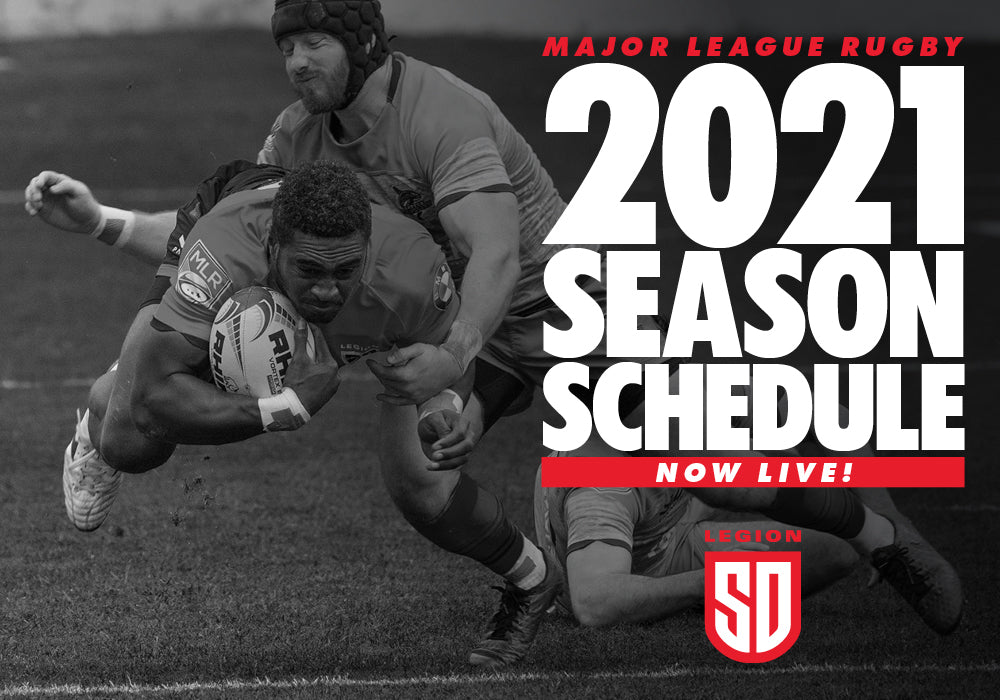 MAJOR LEAGUE RUGBY ANNOUNCES 2021 SEASON SCHEDULE