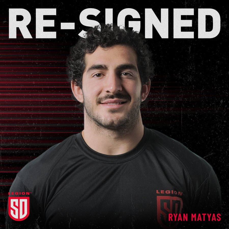 RYAN MATYAS RE-SIGNS WITH LEGION