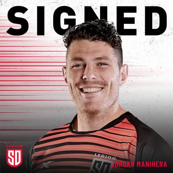 JORDAN MANIHERA SIGNS WITH THE LEGION