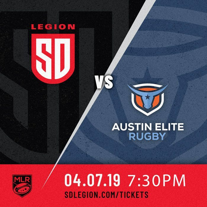 LEGION WELCOME AUSTIN ELITE RUGBY