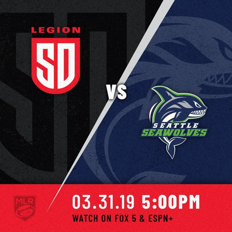 LEGION ON THE ROAD TO TEST SEAWOLVES