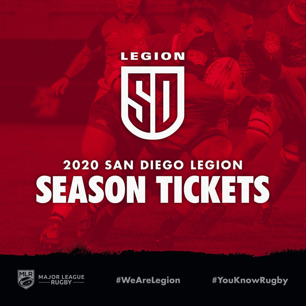 2020 LEGION SEASON TICKETS ON SALE
