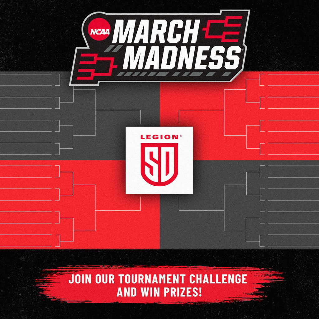ENTER THE LEGION MARCH MADNESS CONTEST