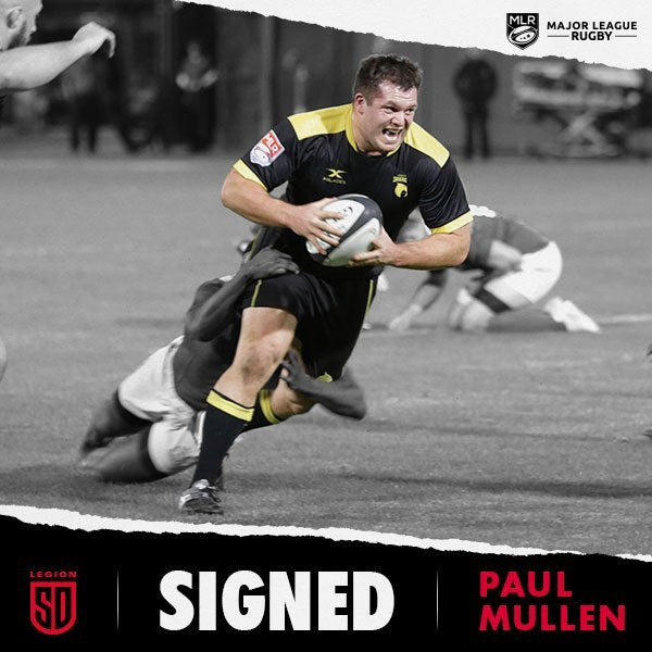 PAUL MULLEN JOINS SAN DIEGO LEGION