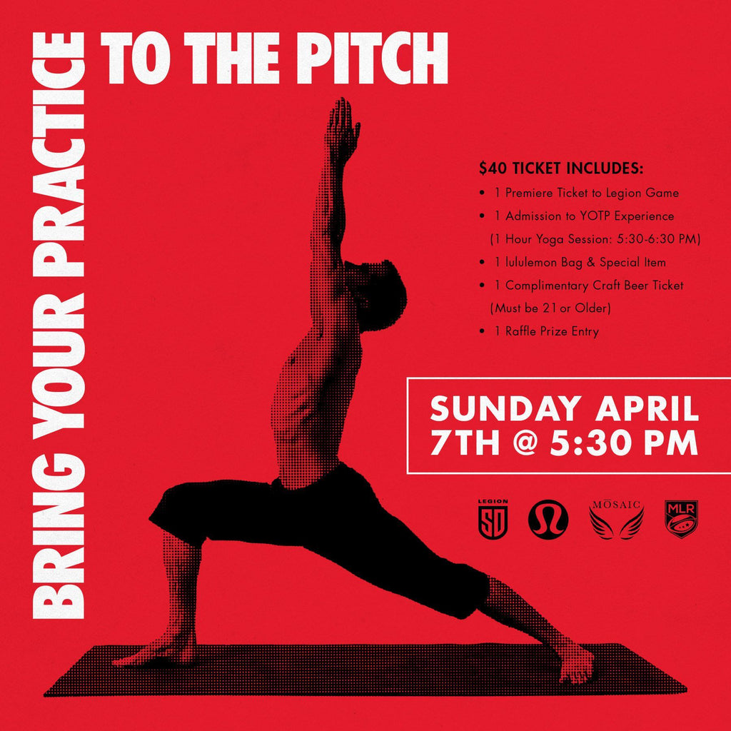 2ND ANNUAL YOGA ON THE PITCH