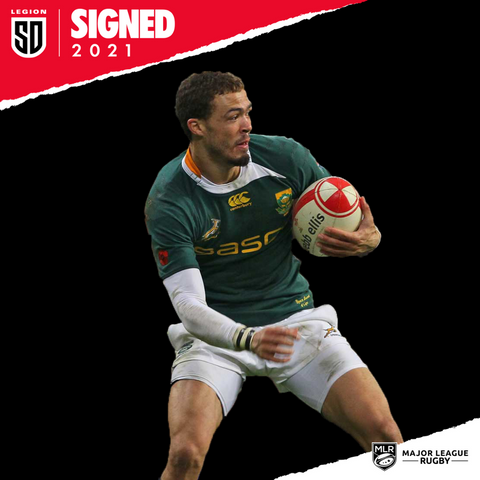 Bjorn Basson signs with SD Legion