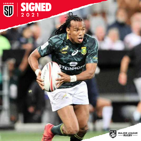 Cecil Afrika signs with SD Legion