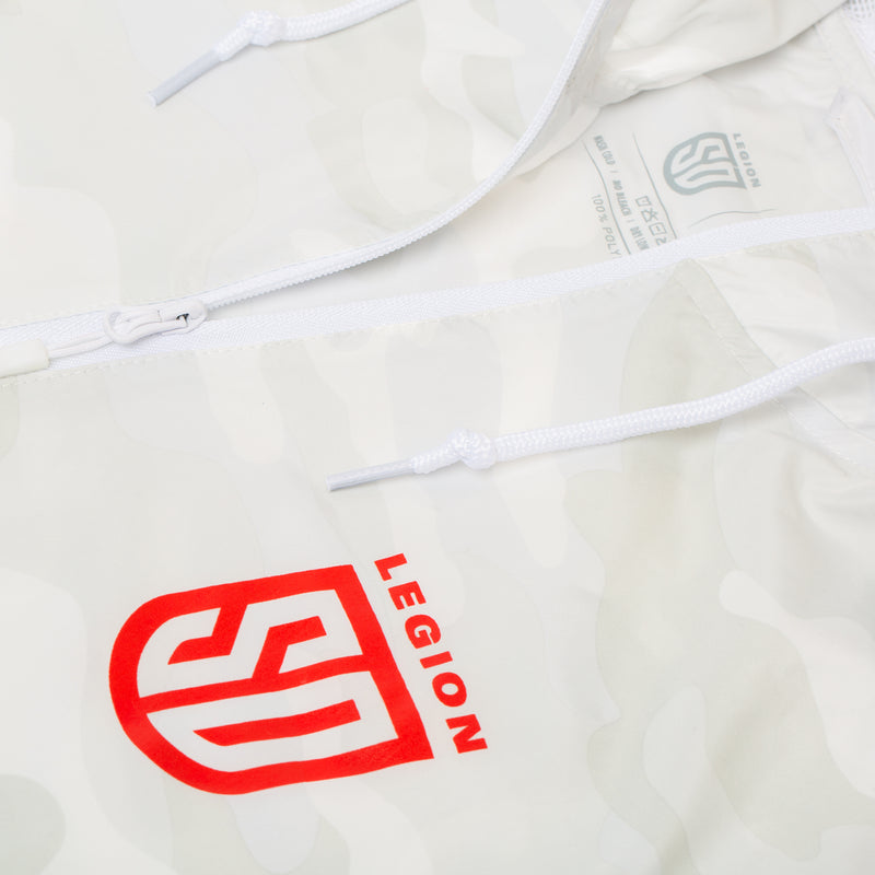 SD LEGION White-Camo Windbreaker