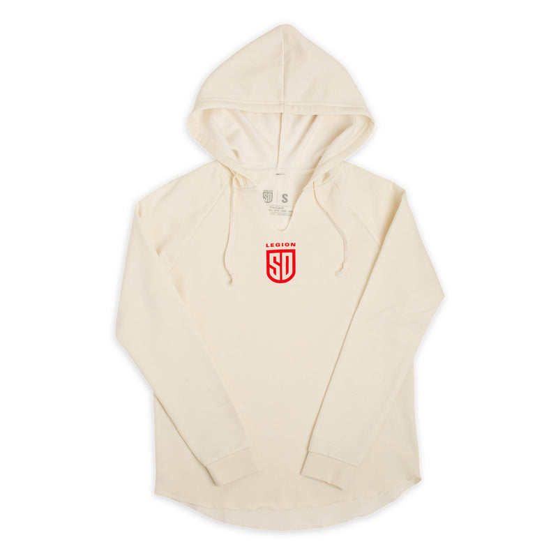 SD LEGION Women's Hooded White Pullover