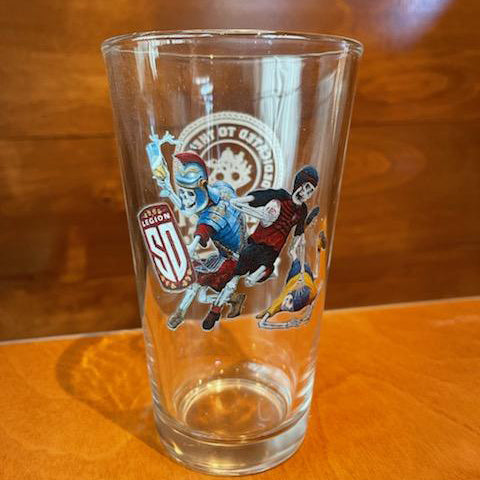 Legion Lager Pint Glass