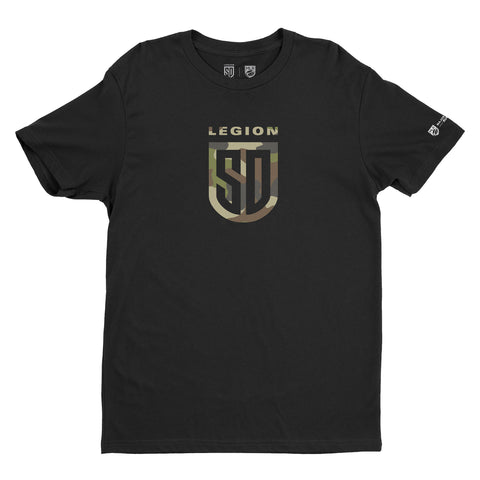 SD LEGION Shield T-Shirt - Camo