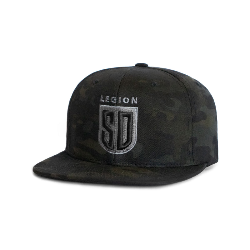 SD LEGION Shield Snapback - Multicam