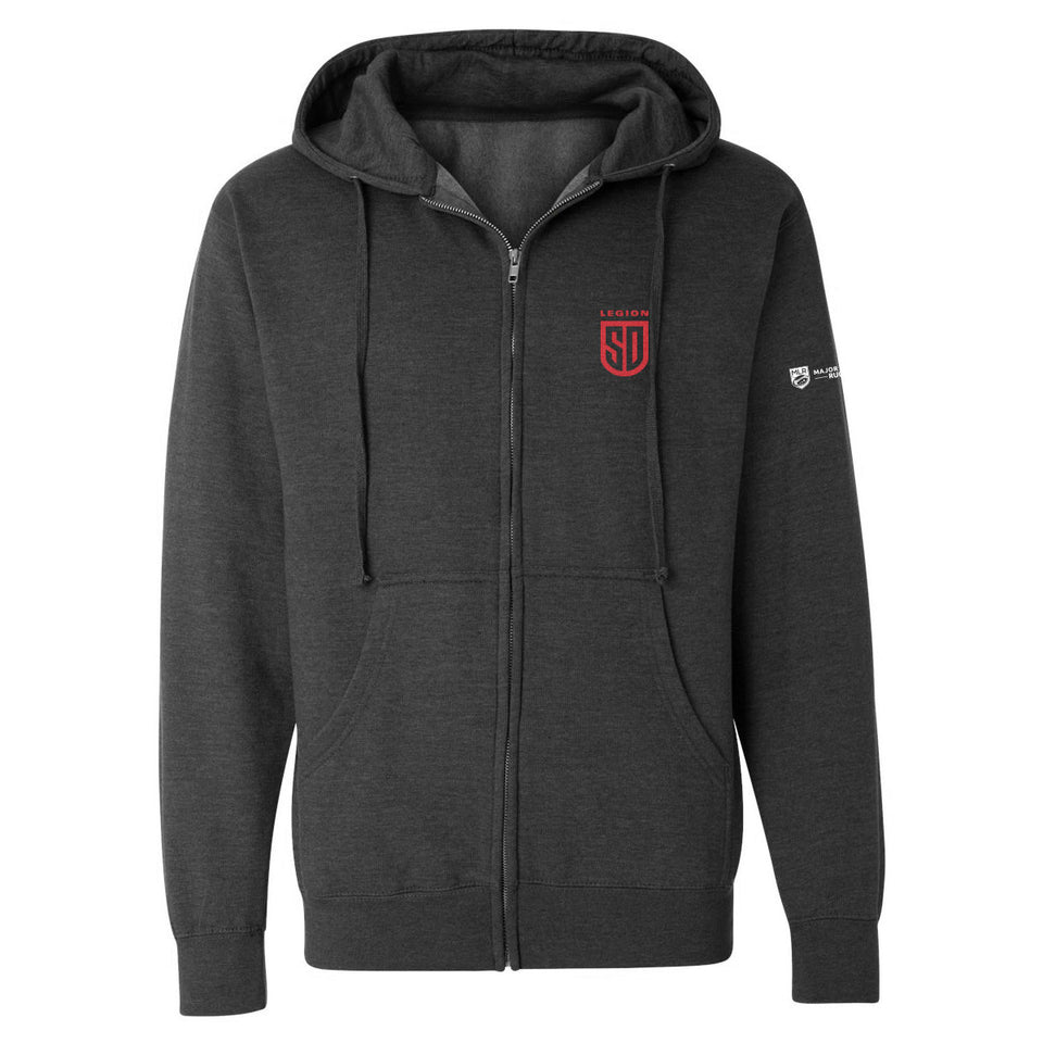 SD LEGION Shield Zip Hood Sweatshirt