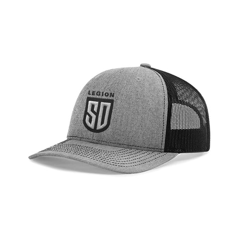 SD LEGION Mesh Hat - Gray & Black