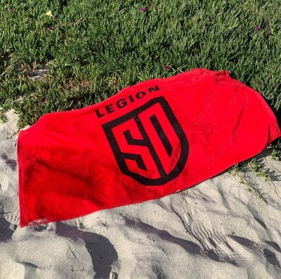 SD LEGION Beach Towel