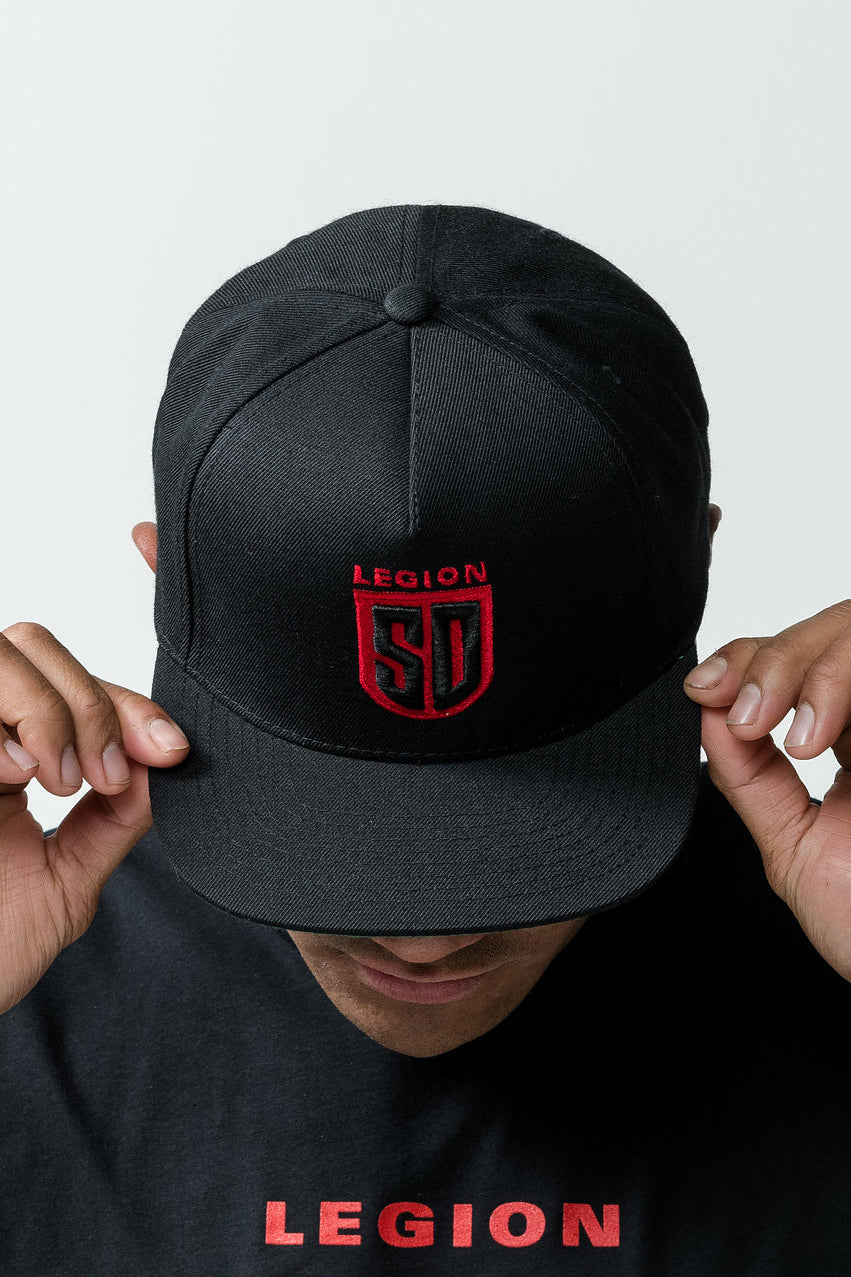 SD LEGION Red Logo Baseball Cap