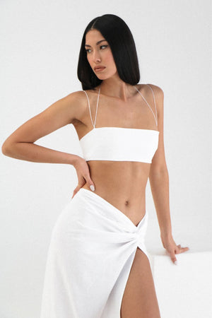 Kylie & Kaia Set in White Sets Natalie Rolt