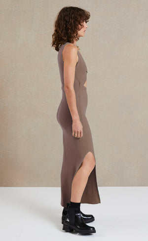 Load image into Gallery viewer, Riviera Midi Dress in Silt Dresses Bec & Bridge