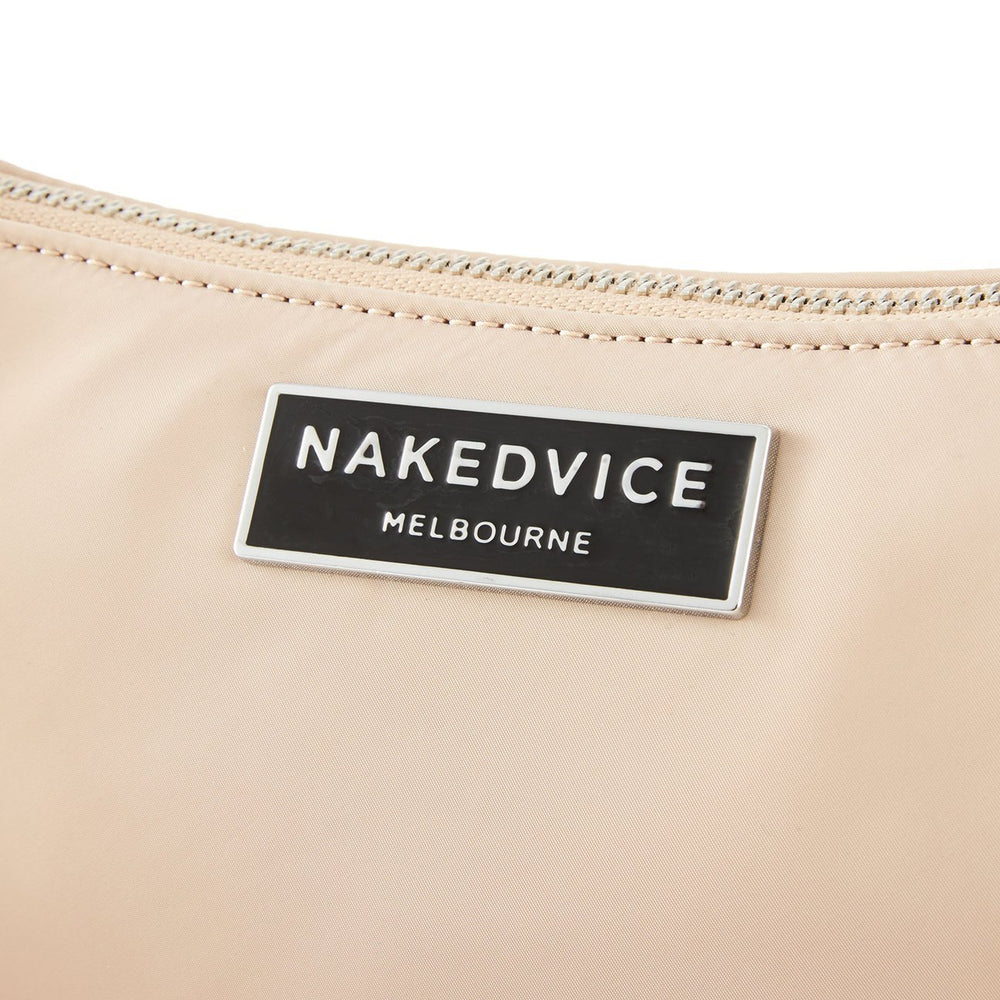 The Christy Sand Nylon Bag Accessories Nakedvice