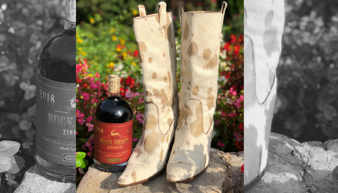 Wine IsShoes|Bourbon and Boots Blog|Buck Shack Zinfandel and Michael Kors Cowboy Boots|eKlozet Luxury Consignment Boutique