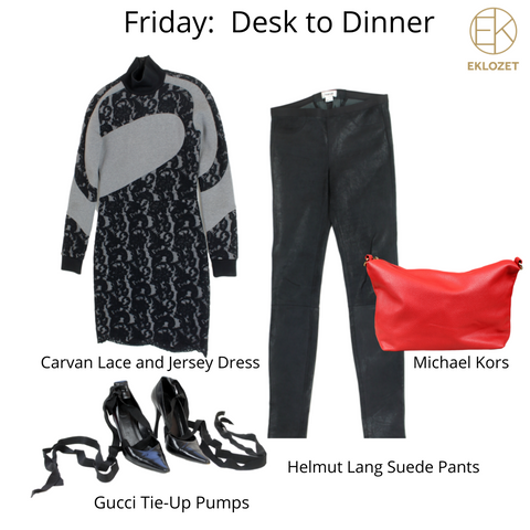 Evonya Easley - Friday Outfit of the Week   eKlozet Luxury Consignment
