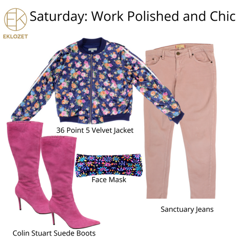 Evonya Easley - Saturday Outfit of the Week   eKlozet Luxury Consignment