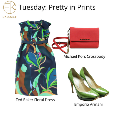 Evonya Easley - Tuesday Outfit of the Week   eKlozet Luxury Consignment