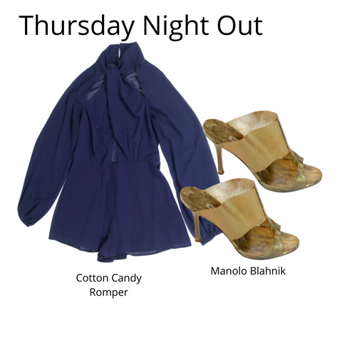 eKlozet Designer Consignment | Outfits of the Week Sheer Thursday