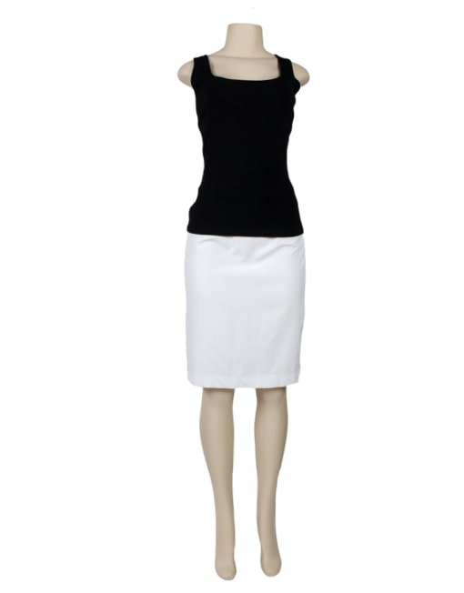 RALPH LAUREN BLACK LABEL Sleeveless Top-Front- eKlozet Luxury Consignment