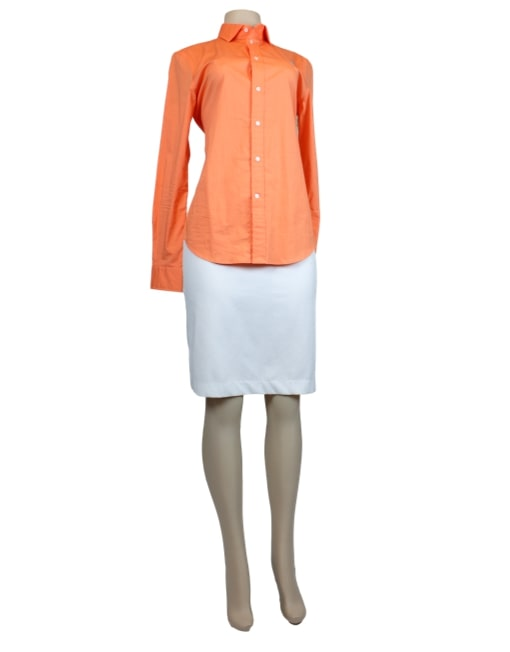 POLO By RALPH LAUREN Button-Up Top-Front- eKlozet Luxury Consignment Boutique