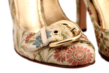 CASADEI FLORAL PUMP - eKlozet Luxury Consignment