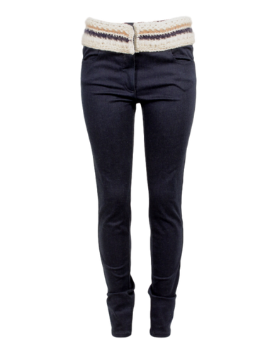 CHANEL MID-RISE SKINNY JEANS