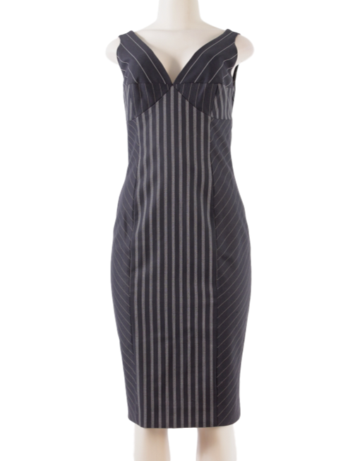CHRISTIAN DIOR WOOL DRESS - eKlozet Luxury Consignment