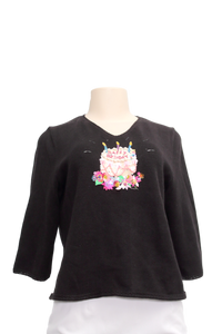 Michael Simon Birthday Cake Sweater - eKlozet Luxury Consignment