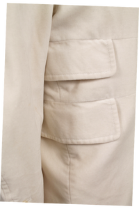 COSTUME NATIONAL NOTCH-LAPEL COAT