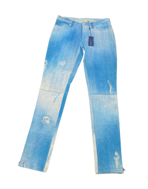 Rebecca Minkoff Leather Jeans Front - eKlozet Luxury Consignment