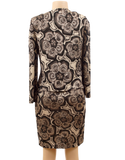 ST. JOHN KNIT ABSTRACT DRESS SET - eKlozet Luxury Consignment