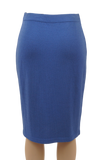 ST. JOHN COLLECTION BLUE SKIRT - eKlozet Luxury Consignment
