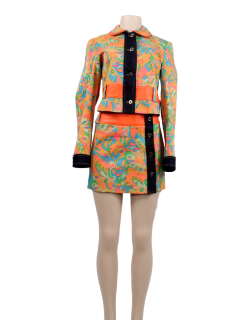 D&G 60's Inpsired Skirt Suit - eKlozet Luxury Consignment