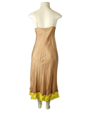 ROZAE NICHOLS Knee-Length Silk Slip Dress - eKlozet Consignment Boutique