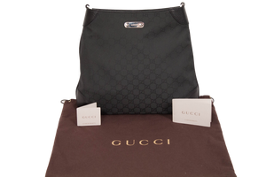 "GUCCI SIGNATURE ""GG"" SHOULDER BAG"