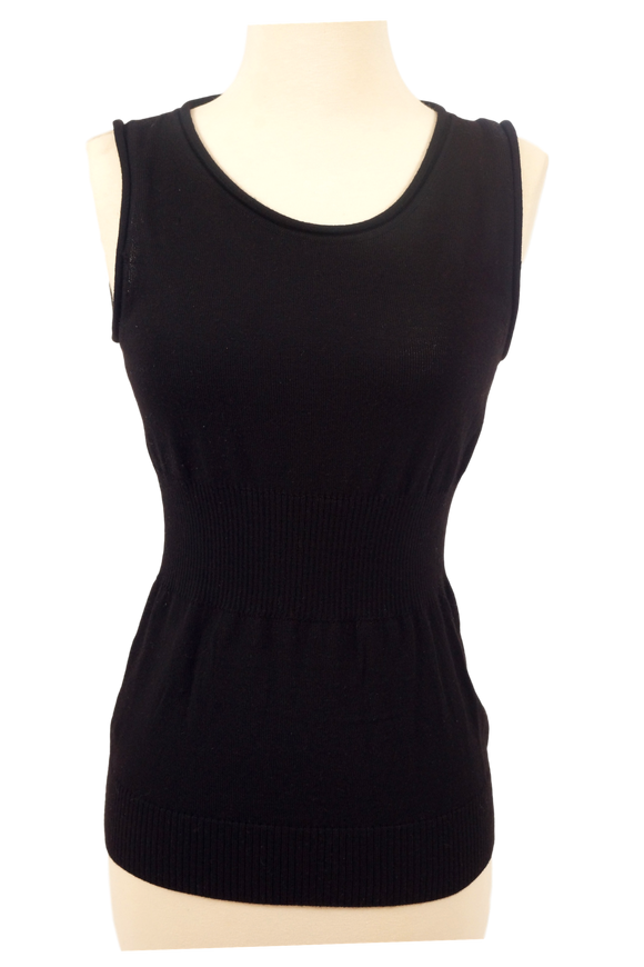 Fendi Wool Tank w/ Decorative back - eKlozet Luxury Consignment