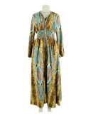 Colors of India Long Sleeve High-Low Dress - eKlozet Luxury Consignment