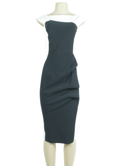 Chiara Boni Citra BIC Knee-Length Dress w/ Tags - eKlozet Luxury Consignment
