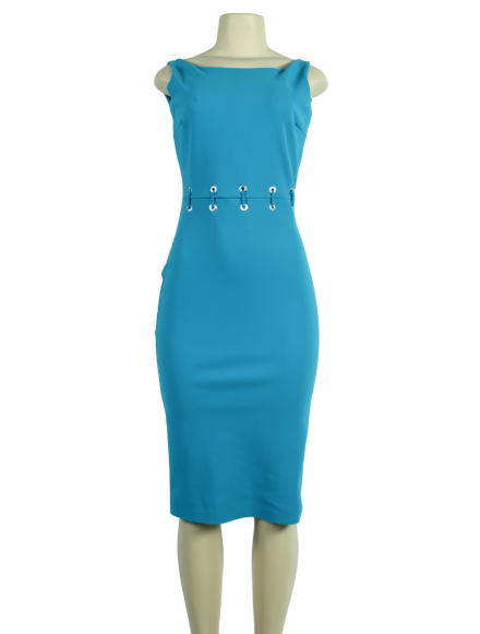 Chiara Boni Maria Iris Boatneck Dress w/ Tags - eKlozet Luxury Consignment