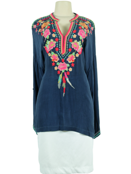 JOHNNY WAS Blossom Tunic - eKlozet Luxury Consignment