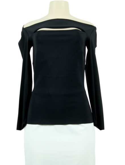 La Petite Robe Di Chiara Boni Cutout-Accented Long Sleeve Top