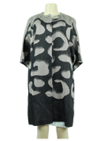 Escada Knee-Length Collarless Topper Coat - eKlozet Luxury Consignment