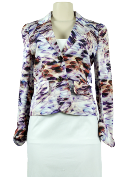 ESCADA Abstract Print Blazer w/ Tags