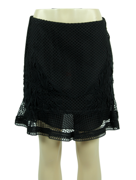 ELIE SAAB Macrame Skirt w/ Tags - eKlozet Luxury Consignment